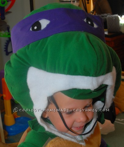 Coolest Throwback Teenage Mutant Ninja Turtle Costume for Boy