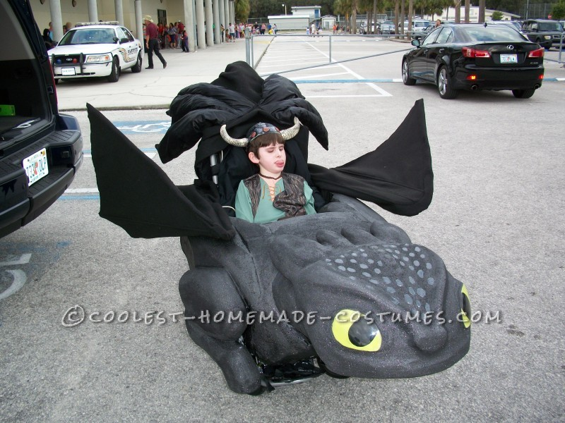 Connor and Toothless