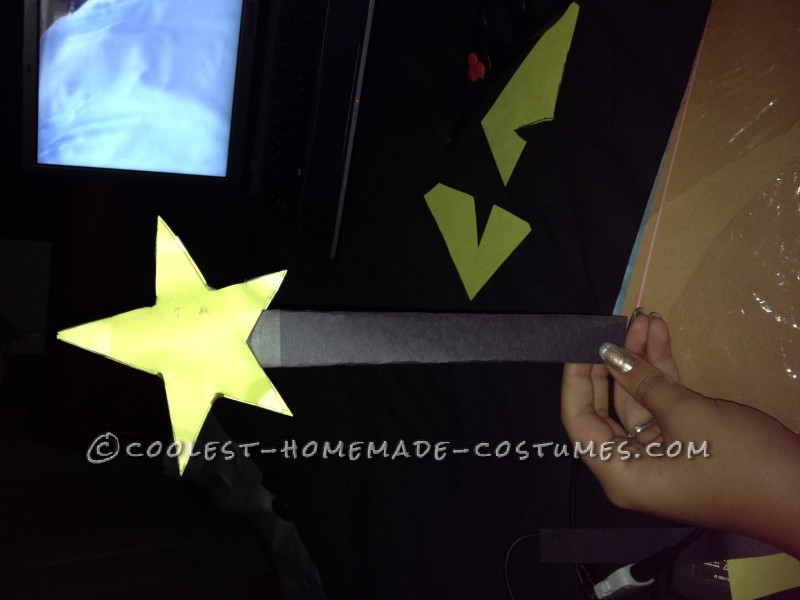 The finished wand product!