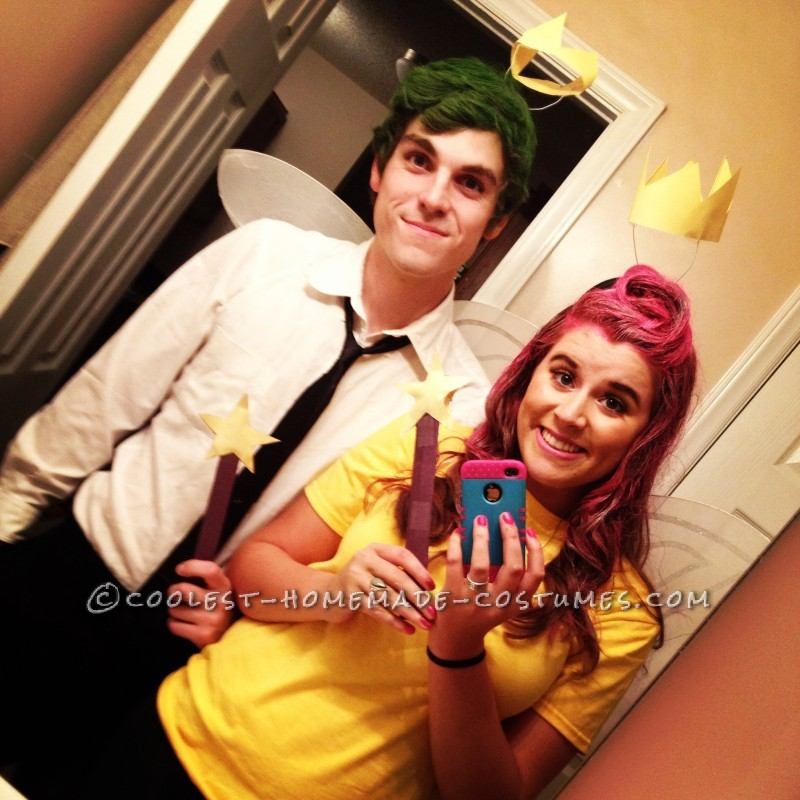 Cosmo and Wanda Couples Halloween Costume