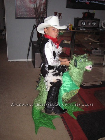 Cowboy Dragon Rider Illusion Costume