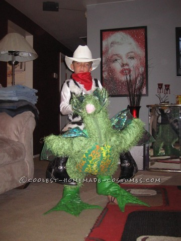 Cowboy Dragon Rider Illusion Costume
