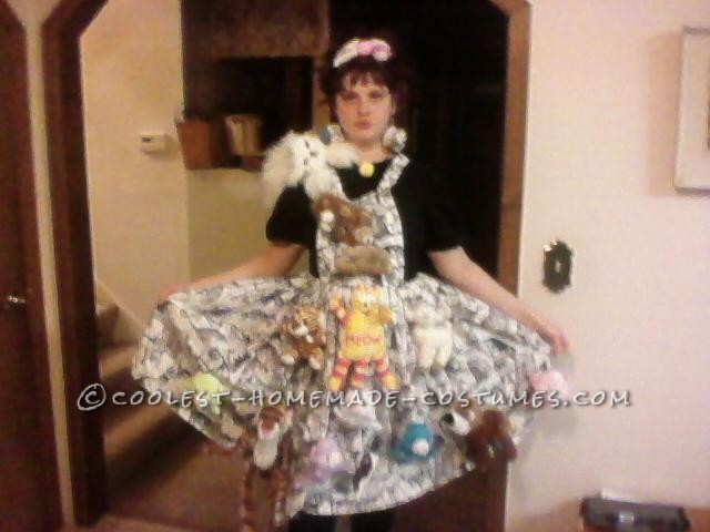 Crazy Cat Lady Costume (and Song and Dance)