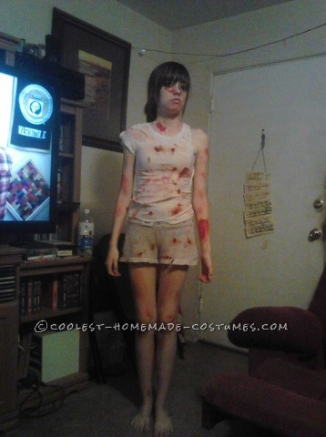 Creepy Dead Insane Asylum Escapee Costume