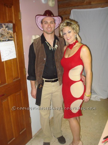 Crocodile Dundee and Sue Couple Costume