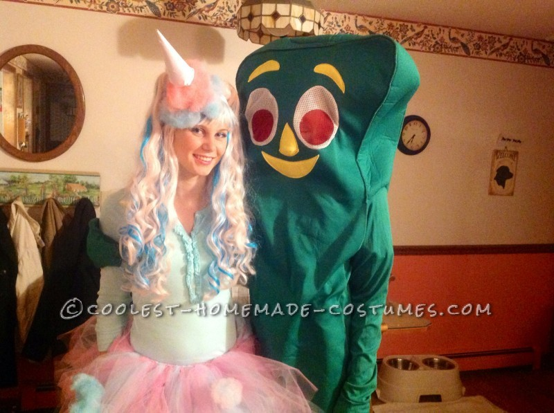Cotton Candy and Gumby