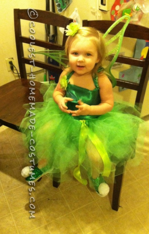 Cute as a Wink Tink Costume for a Toddler - 2