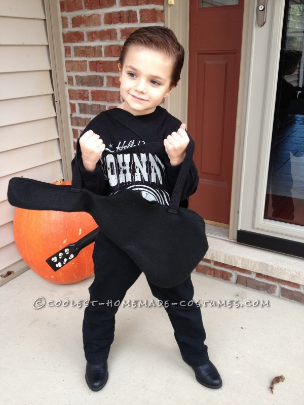 Cute Little Johnny Cash Costume