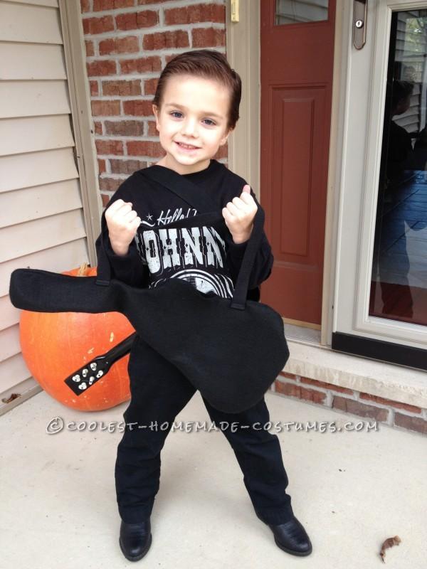Cute Little Johnny Cash Costume
