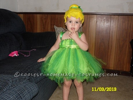 My Beautiful daughter as Tinkerbell