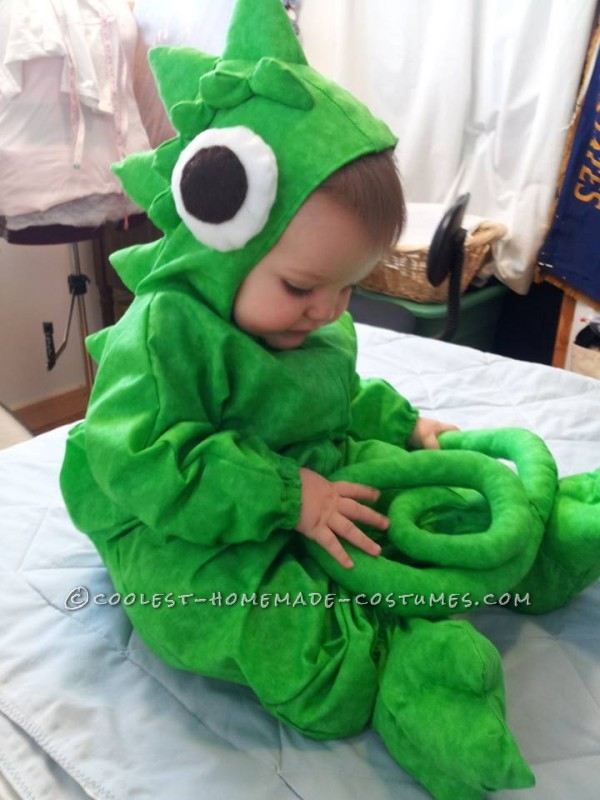 Cutest Baby Pascal (Chameleon) Toddler Costume