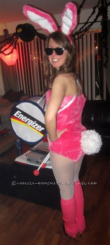 Cutest Energizer Bunny Costume Ever!
