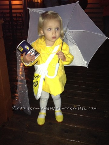 Cutest Little Morton Salt girl