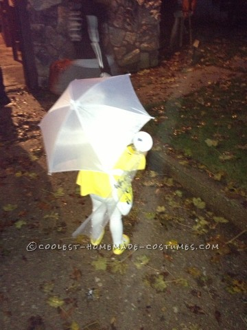 Tiny little Morton Salt girl