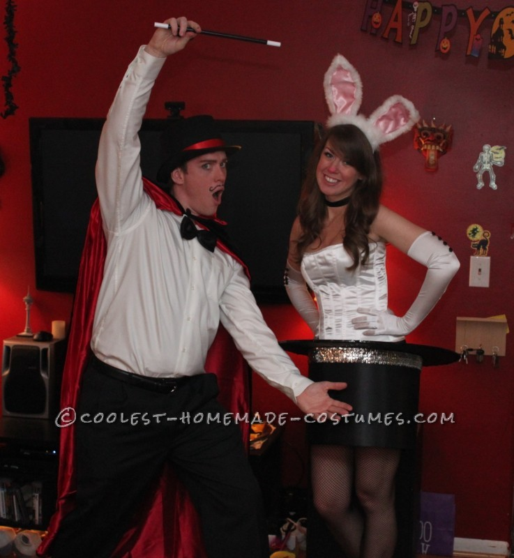 Cutest Magician and Rabbit in a Top Hat Couples Costume