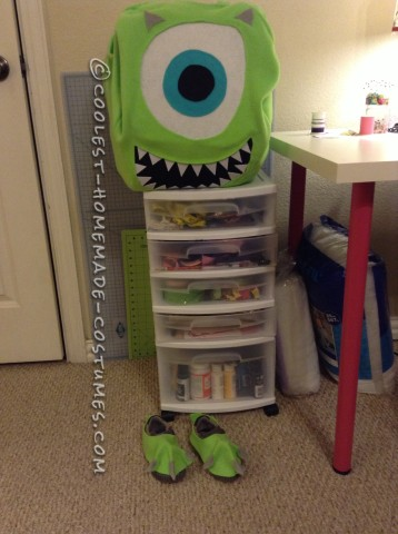 Cutest Mike Wazowski Costume for a Boy