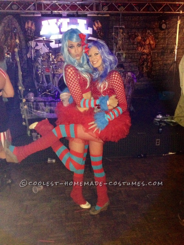 Cutest Thing 1 and Thing 2 Couple Halloween Costume