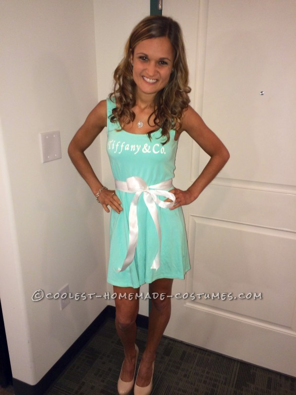 Cutest Tiffany & Co. Woman's Costume