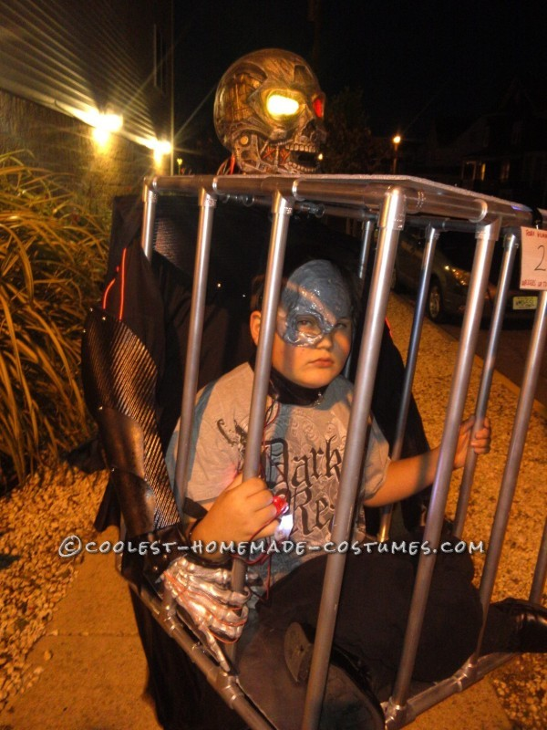 Cool Caged Illusion Costume
