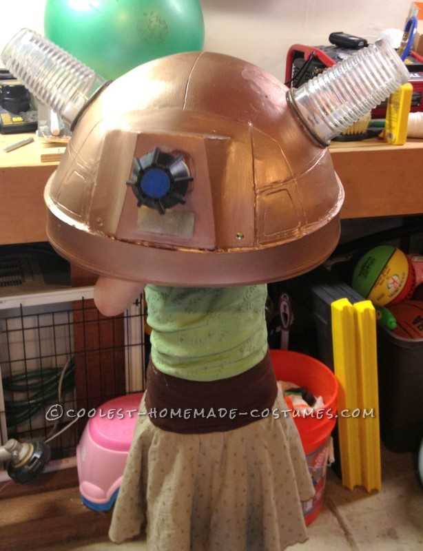 Coolest Homemade Doctor Who Dalek Caan Costume - 14