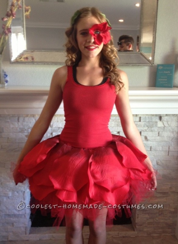 Dancing Rose Costume from Alice in Wonderland