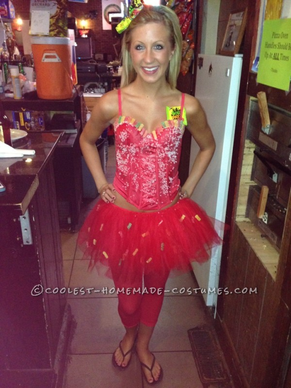 Deliciously Easy Sour Patch Kid Costume for Women
