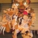 Demented Toy Maker's Evil Creation: 'Mr. Teddy' Halloween Costume