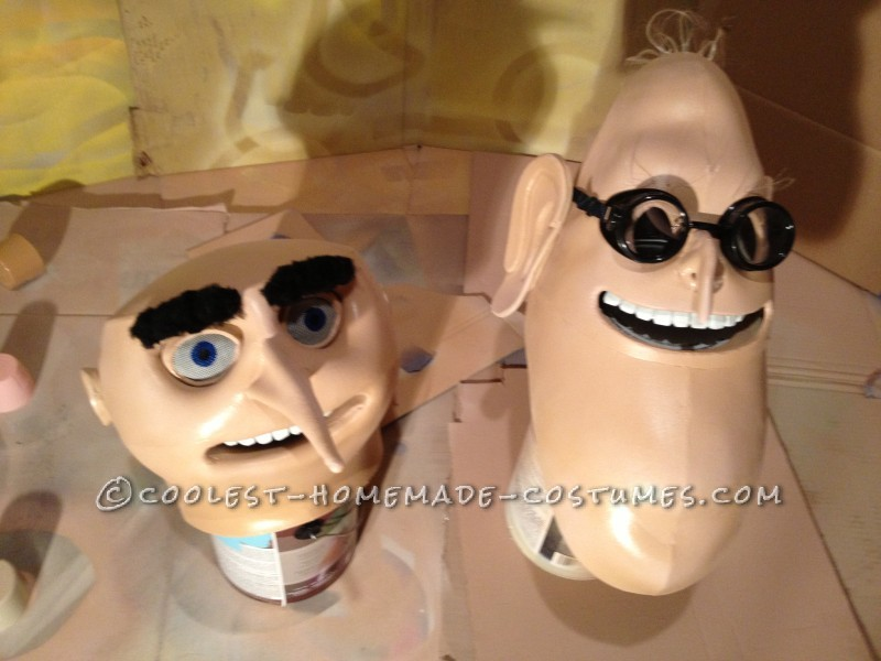 The Finished Heads