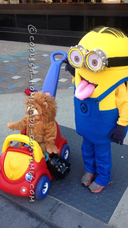 Despicable Me Minion Costume for a Child - 1