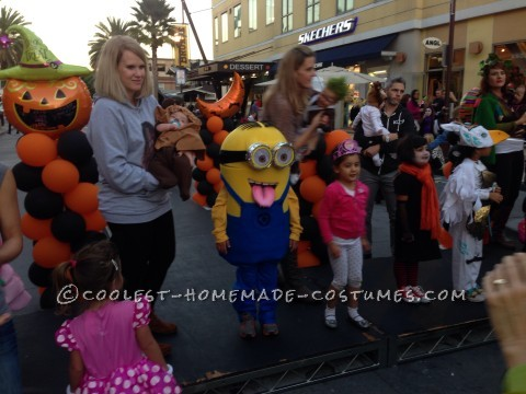 Despicable Me Minion Costume for a Child