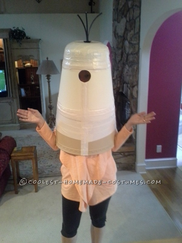 Cool Homemade Despicable Me Minion Costume Made with TLC - 3
