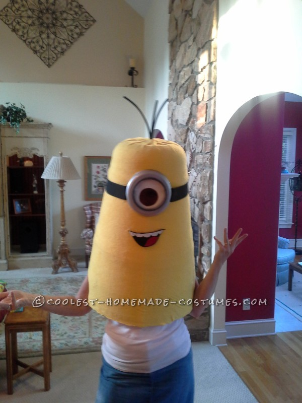 Cool Homemade Despicable Me Minion Costume Made with TLC - 6