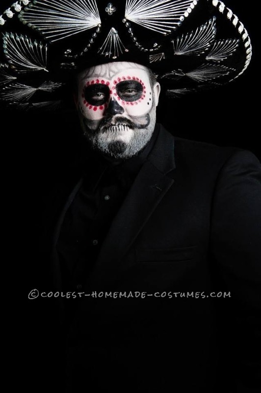 Coolest Ever Dia de Los Muertos Familia Halloween Costume - 1