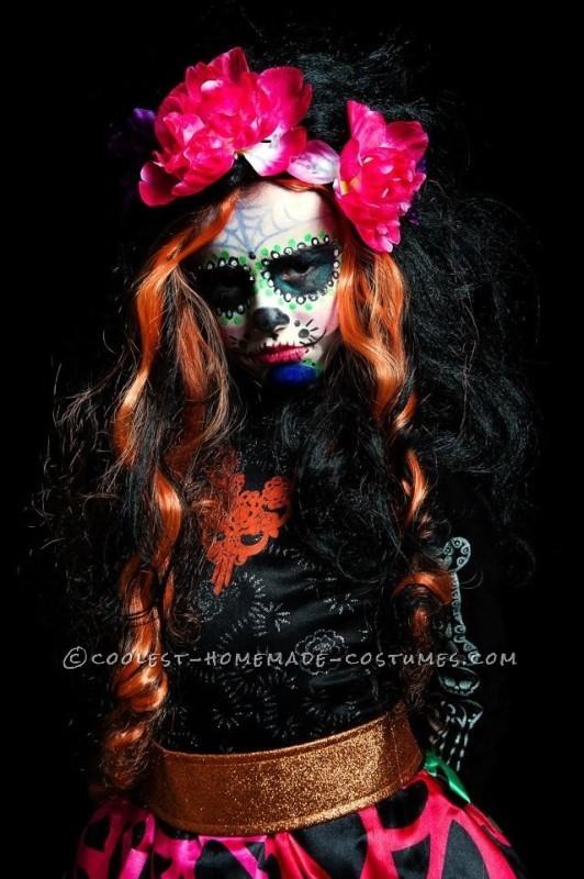 Coolest Ever Dia de Los Muertos Familia Halloween Costume - 2