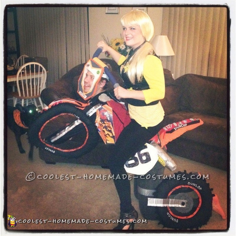 Awesome Motocross Couple Costume