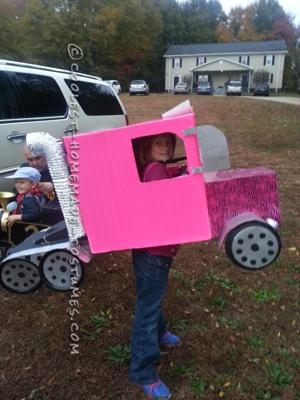 Pink Rig Truck Halloween Costume