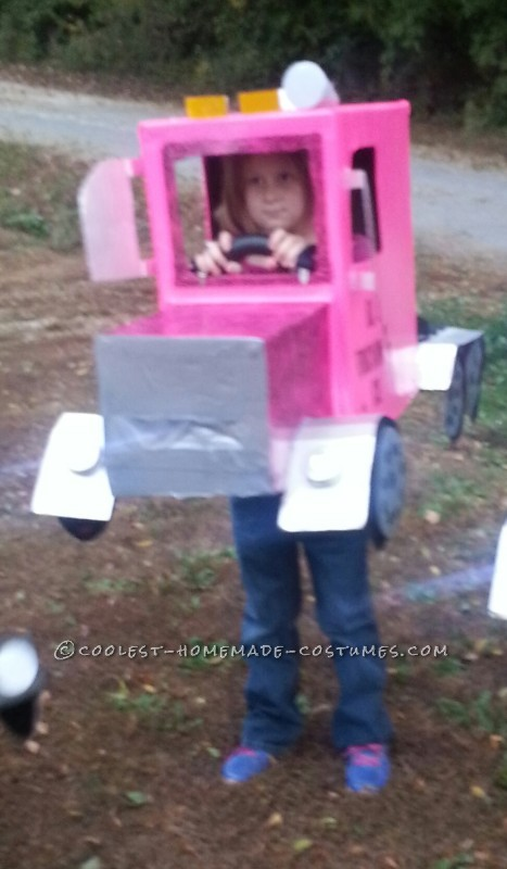 Pink Rig Truck Halloween Costume - 2