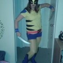 DIY Classic Wolverine Costume for a Lady