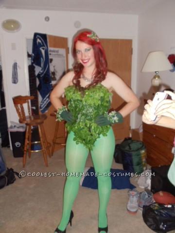 Sexy DIY Poison Ivy Costume