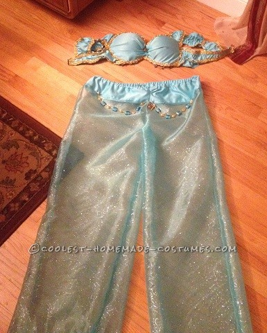 DIY Sexy Princess Jasmine Halloween Costume