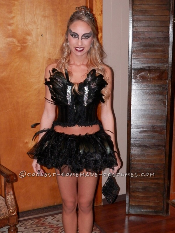 Do-it-Yourself Elegant Black Swan Costume
