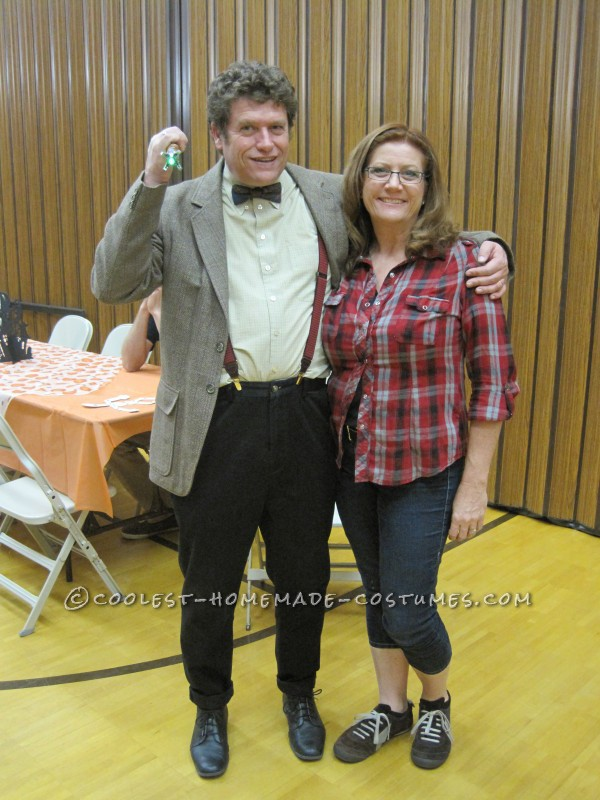 Cool Doctor Who and Amy Pond Adult Couple Costume