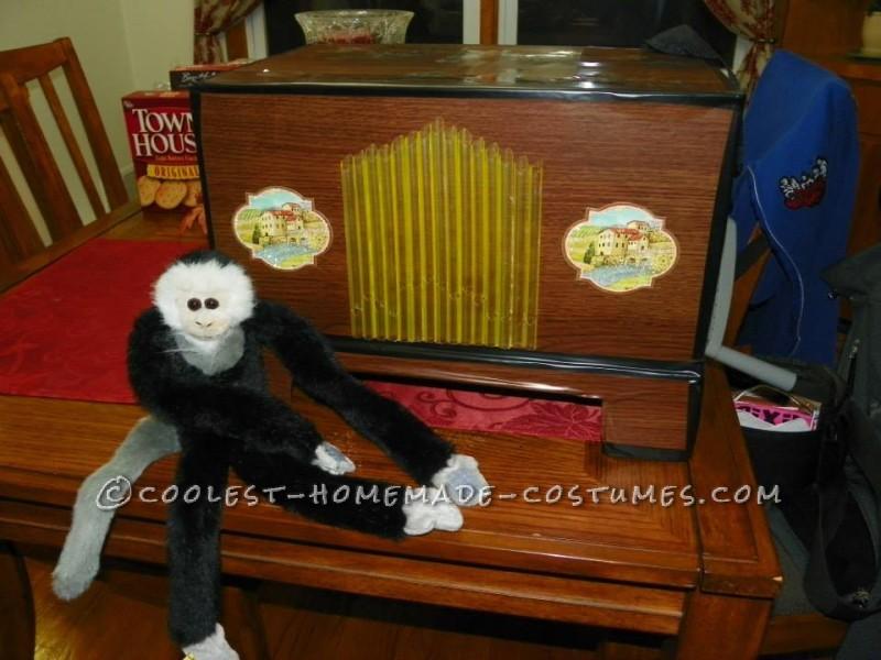 Dollar Store Halloween Costume – Organ Grinder - 1