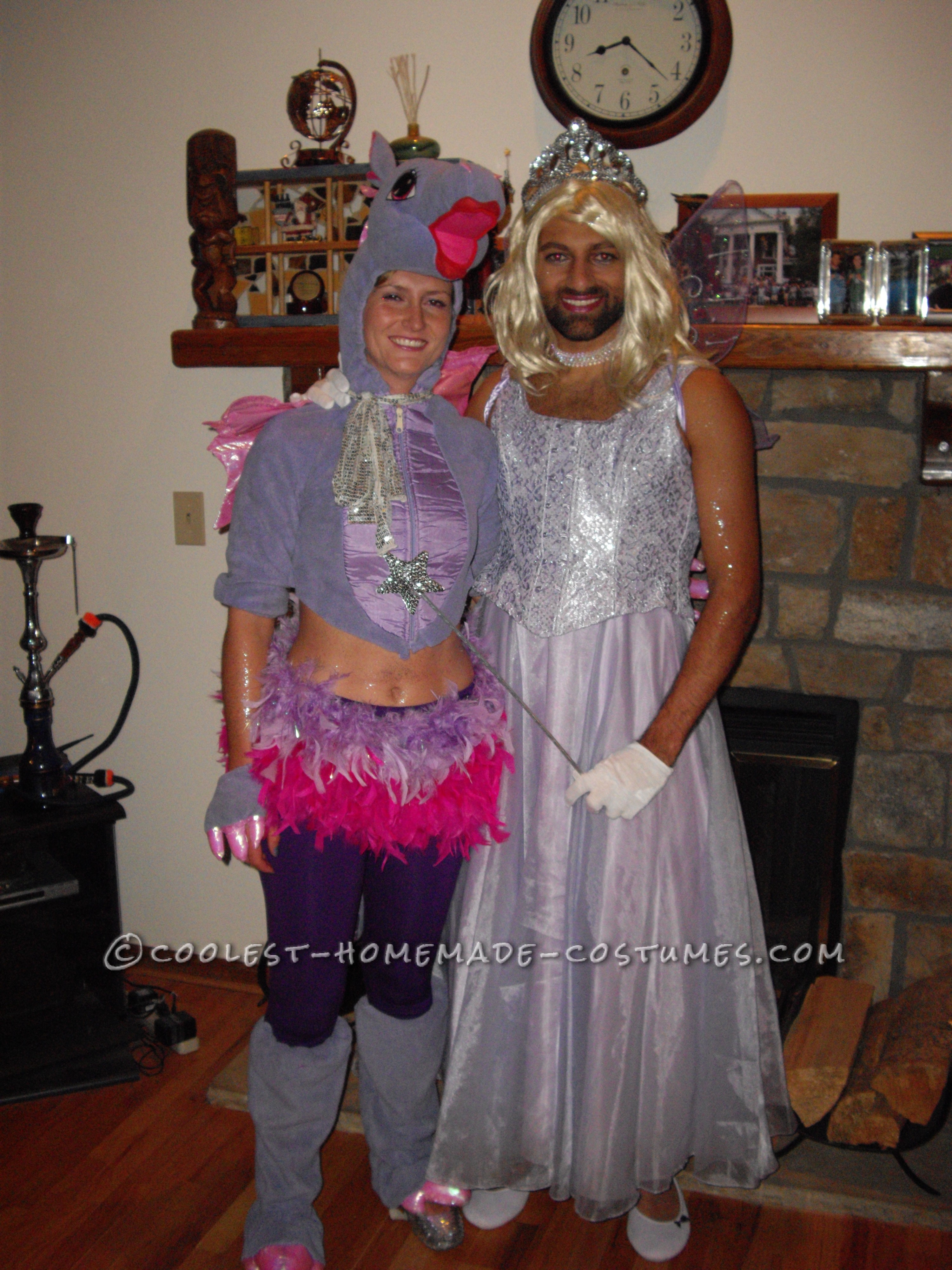 Dragon and Fairy Princess Couple Costume