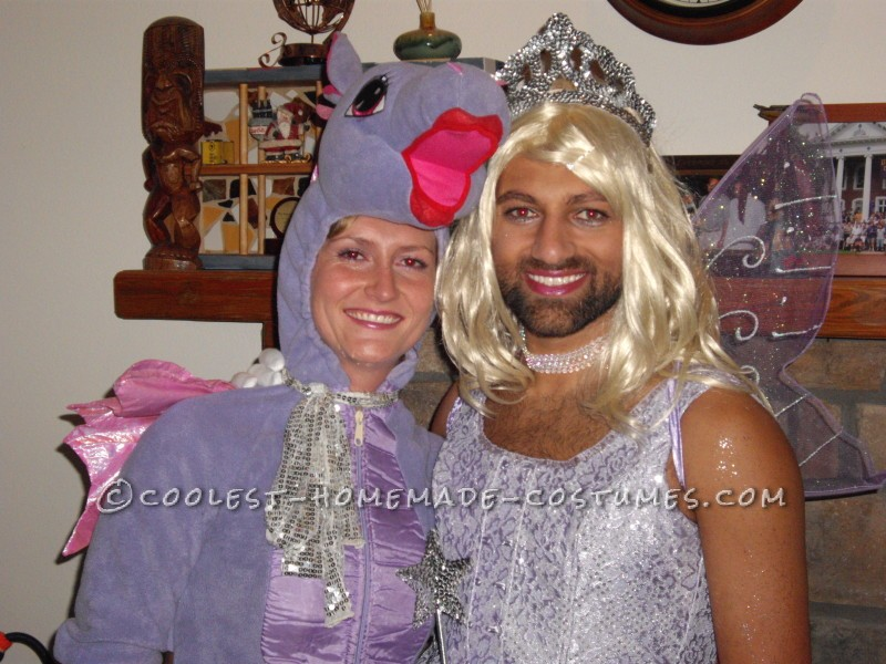 Dragon and Fairy Princess Couple Costume - 6