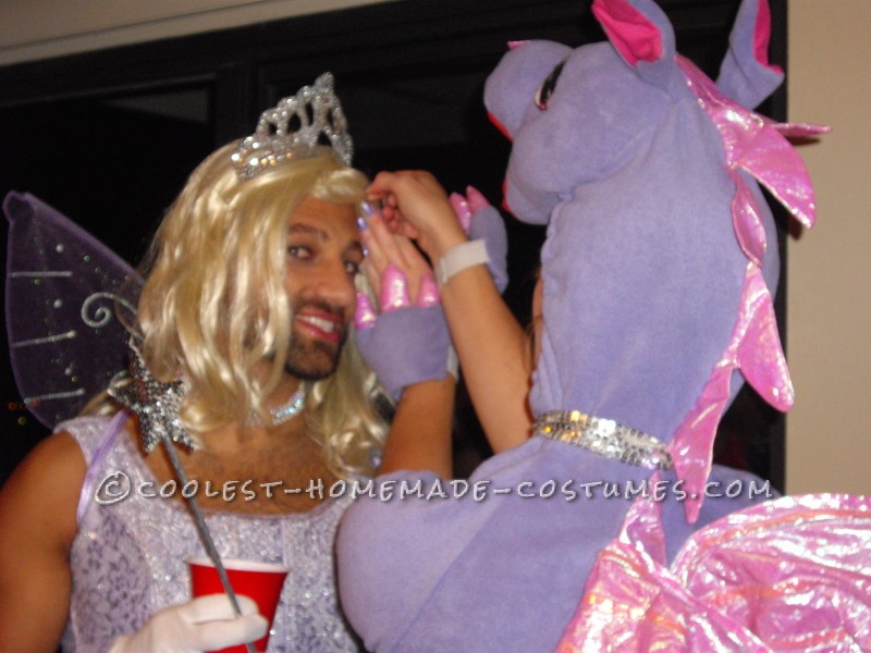Dragon and Fairy Princess Couple Costume - 5