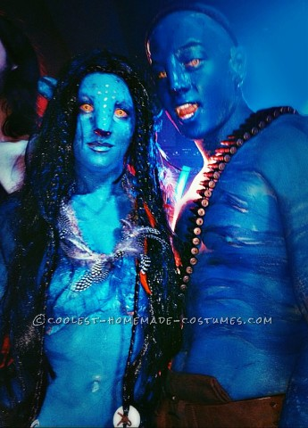 Contest-Winning Costume: Avatar Couple