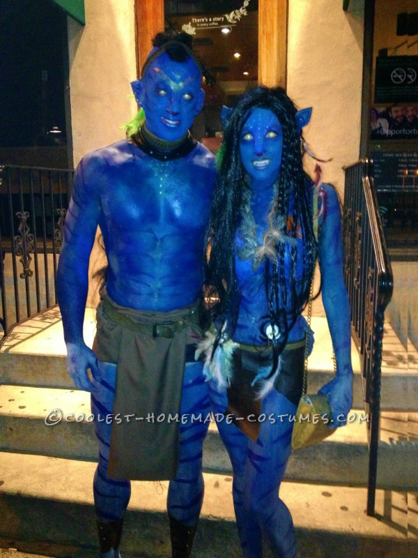 Contest-Winning Costume: Avatar Couple - 5