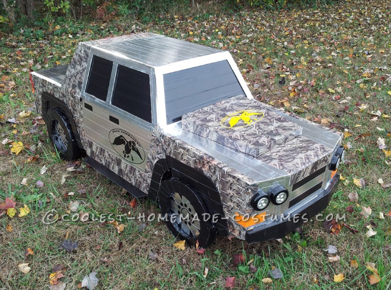 Awesome Duck Dynasty Transforming Truck Costume