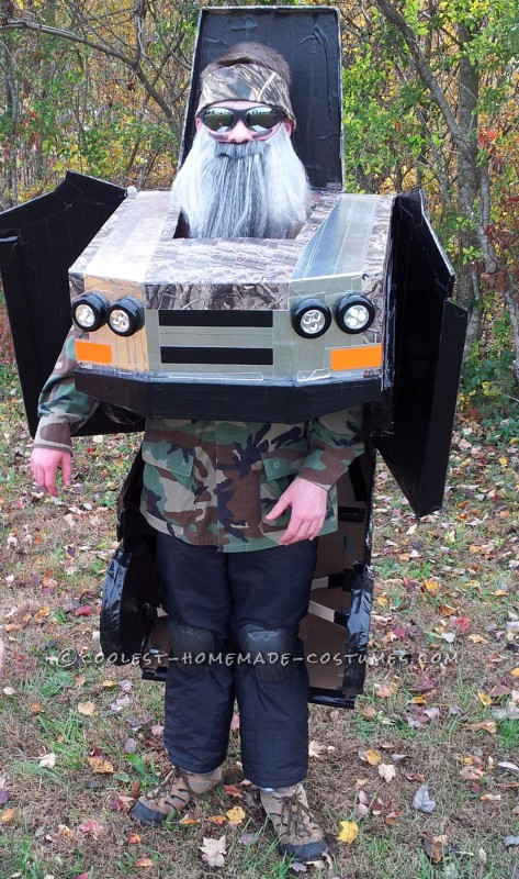 Awesome Duck Dynasty Transforming Truck Costume - 2
